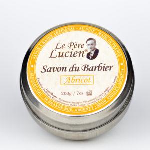 Savon du barbier Abricot 200g - Savon à raser Le Père Lucien