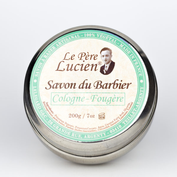 Savon du Barbier Cologne Fougère 200g Savon à raser Père Lucien