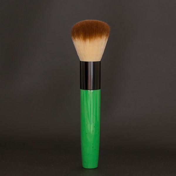 pinceau-de-maquillage-manche-en-resine-verte