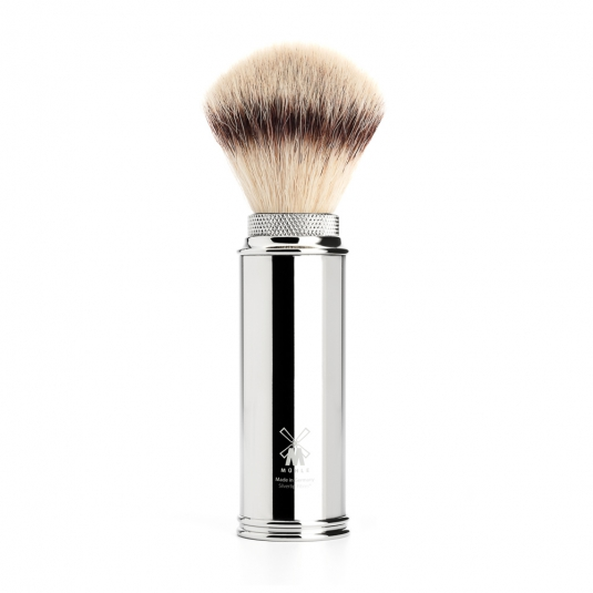 blaireau-synthetique-voyage-chrome-muhle-silvertip-fibre