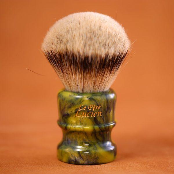 blaireau-mred-pere-lucien-silver-tip-hmw-bulb-resine-26mm-n15