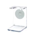 support-de-blaireau-resine-transparent