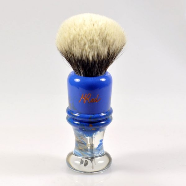 blaireau-mred-26mm-finest-badger-sur-resine-bleue
