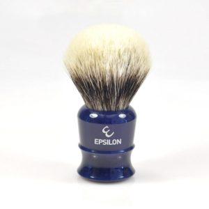 blaireau-rasage-finest-Epsilon-26mm-resine-bleue