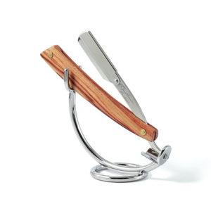 support-pour-shavette-coupe-chou-en-metal-chrome