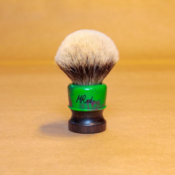 blaireau-mred-lpl-26mm-finest-bulb-palissandre-résine-verte-violette